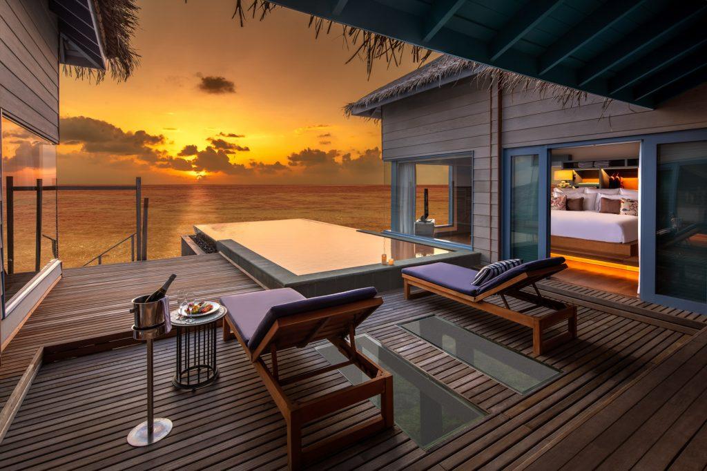 Dawn at the resort