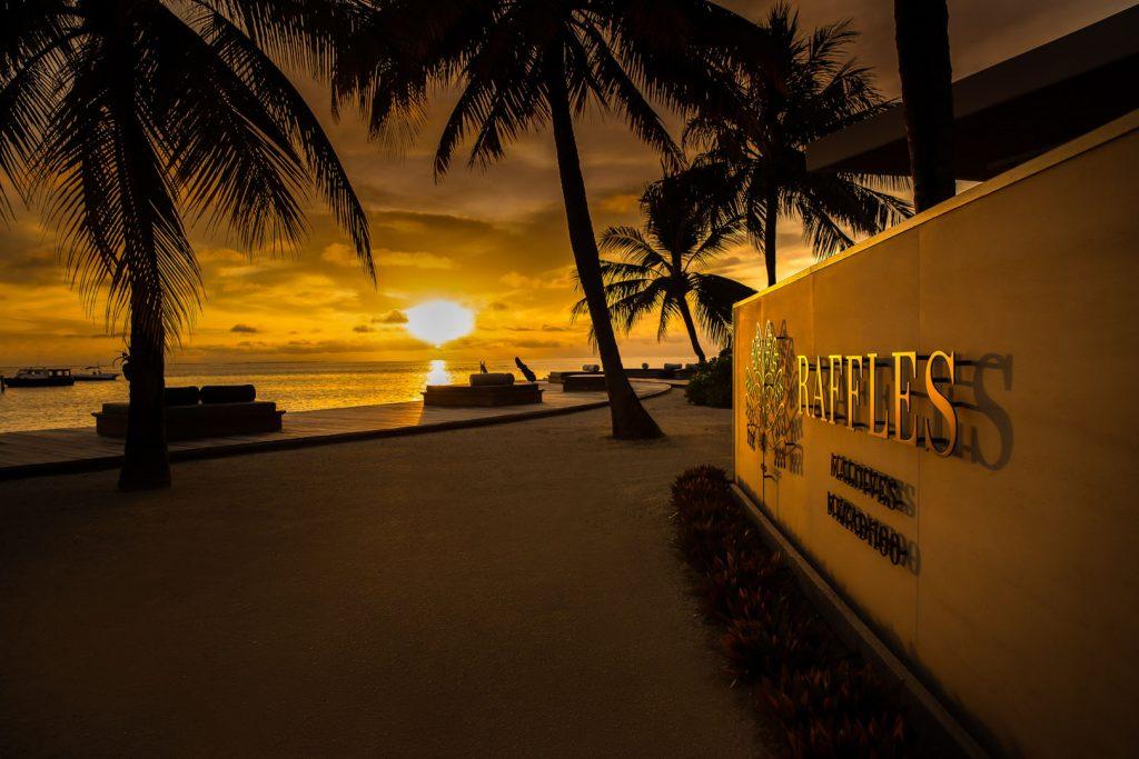 Luxury Raffles Maldives Resort 14